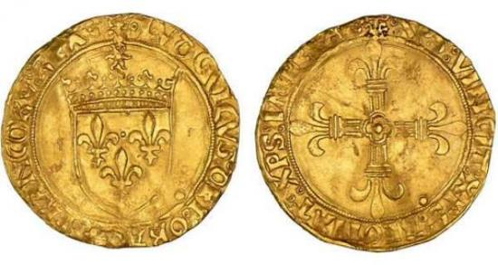 Ecu d'or - Louis XII (1498-1514)
