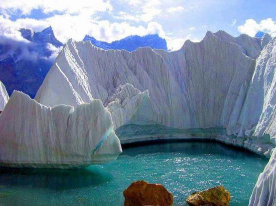 Glacier Gasherbrum - Chine