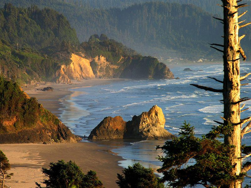 Cannon beach, Parc National Ecola - Oregon
