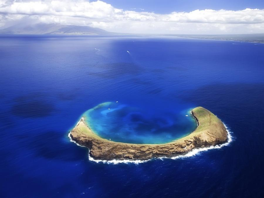 Cratère Molokini - Hawaii