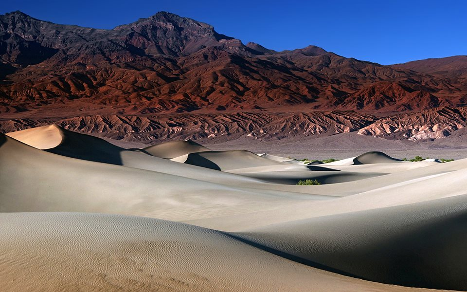 Le dune di Mesquite, Death Valley - California