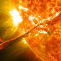 Explosion solaire