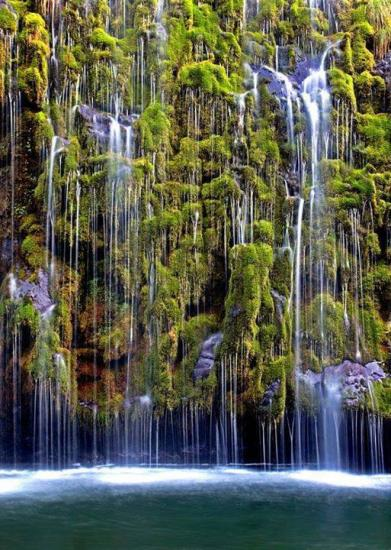 Cascade de Mossbrae - Californie
