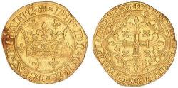 Couronne d'or 1340 Philippe VI 1328 1350
