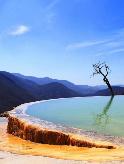 Hierve el Agua, Oaxaca - Mexique
