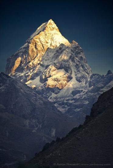 Le mont everest himalaya