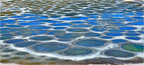 Spotted lake osoyoos canada