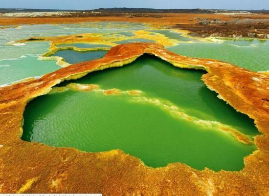 Volcan Dallol - Éthiopie