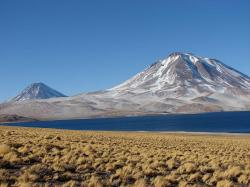 Volcans parinacota et pomerape parc national de lauca chili 1